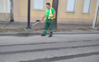 Radnici Javne higijene danas izvršili dezinfekciju ulica
