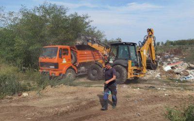 Započeta sanacija divljih deponija u Bačkom Bregu