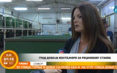Grad dobija kontejnere za reciklažu stakla (VIDEO)