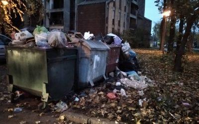 Apel građanima da šut ne odlažu u kontejnere namenjene komunalnom otpadu