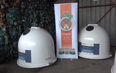 Prilog TV Sombor o postavljanju kontejnera za staklenu ambalažu