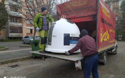 Sombor dobio 150 kontejnera za odlaganje staklene ambalaže