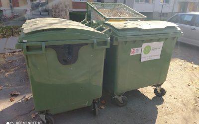 Zamena kontejnera u gradu Somboru