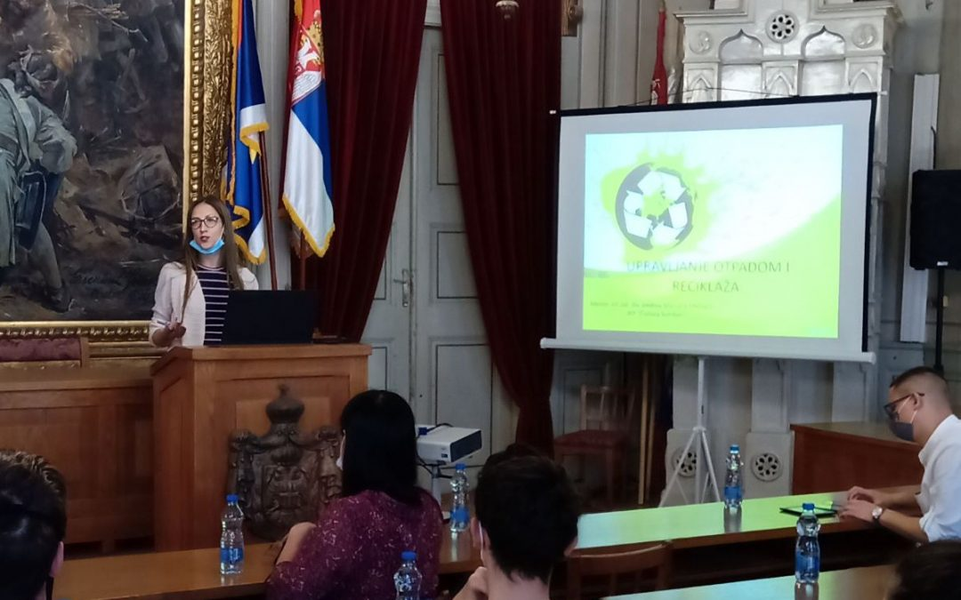 Marijeta Malbaša učestvovala na panel diskusiji u okviru Evropske zelene nedelje