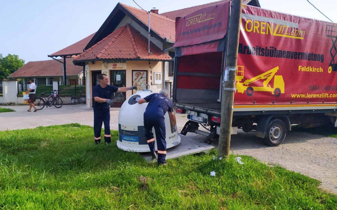 Zvona za odlaganje staklene ambalaže od sada i u Bukovcu